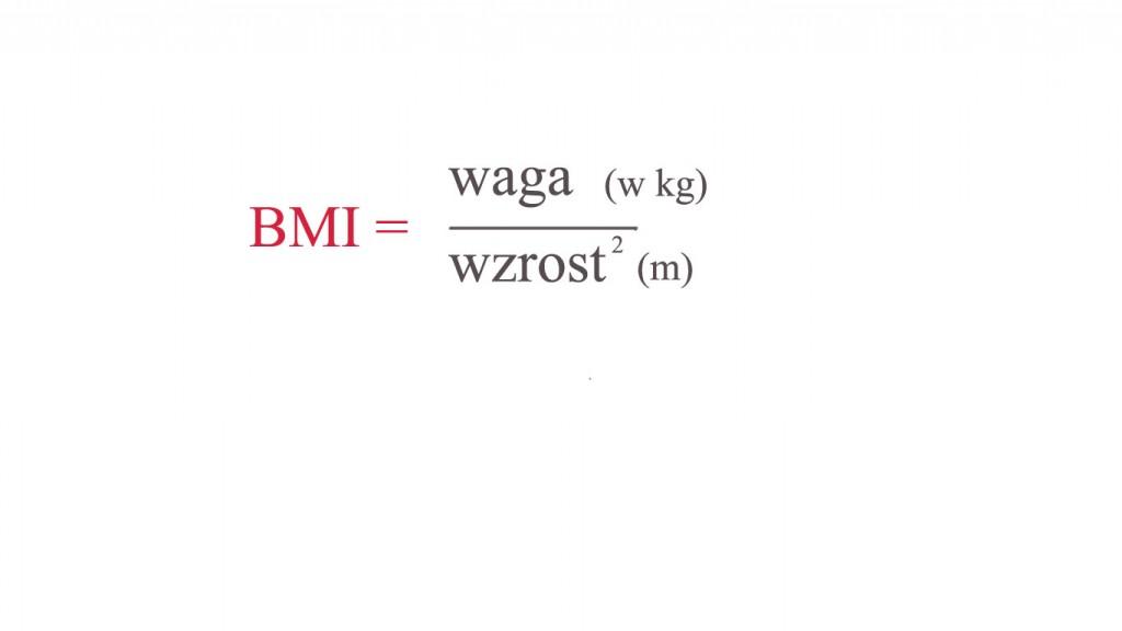 Wzór BMI