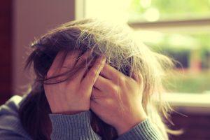 Osoba w stresie