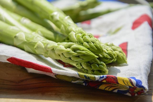 Zielone szparagi