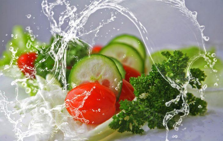Letnie warzywa na diecie
